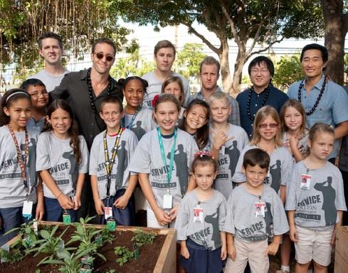 Hawaii Five-0 and Teaching Gardens